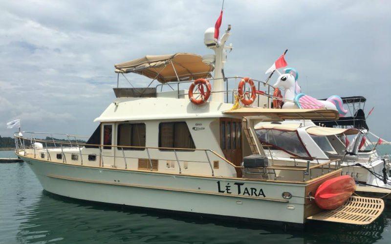Le Tara Yacht   Singapore Yacht Charter