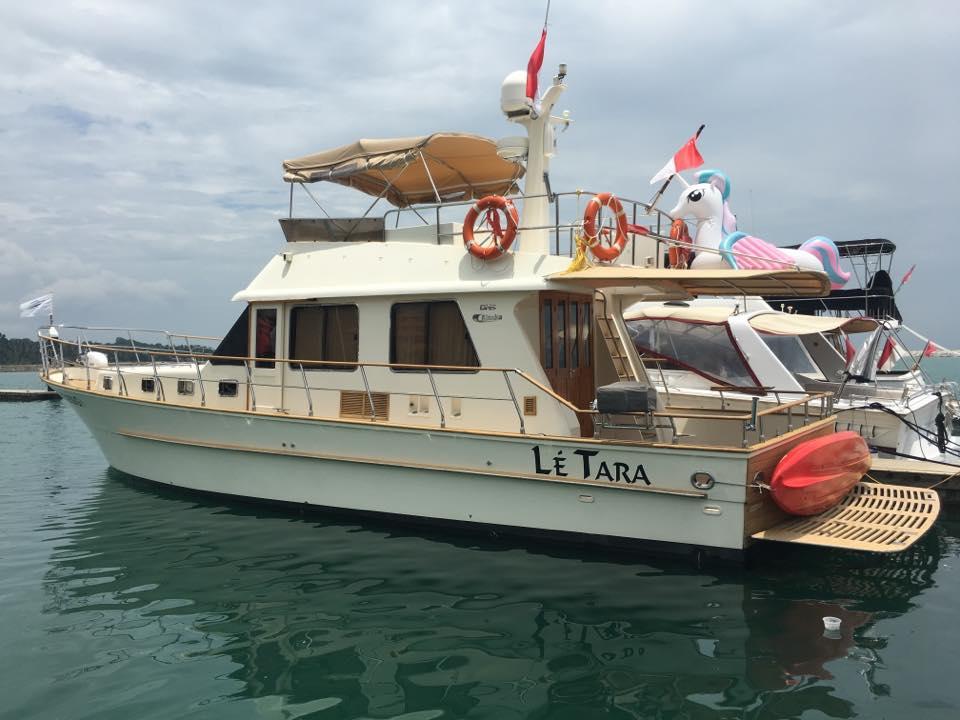 Le Tara Yacht | Alaska 45 yacht | Singapore Yacht Charter