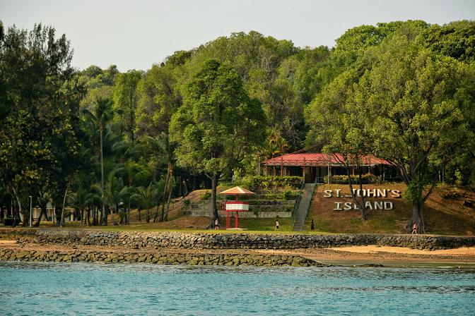 Island Hopping Singapore | St John's Island | Saint John | Singapore Yacht Charter