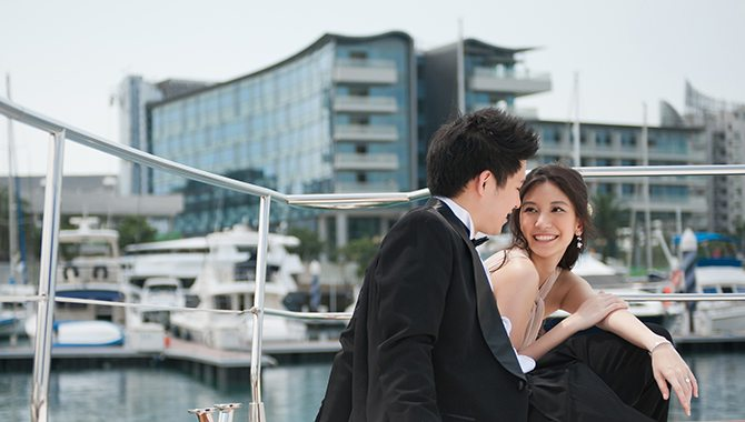 Yacht Wedding Singapore | Singapore Yacht Charter