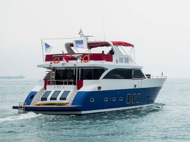 Anka Yacht Singapore | Singapore Yacht Charter