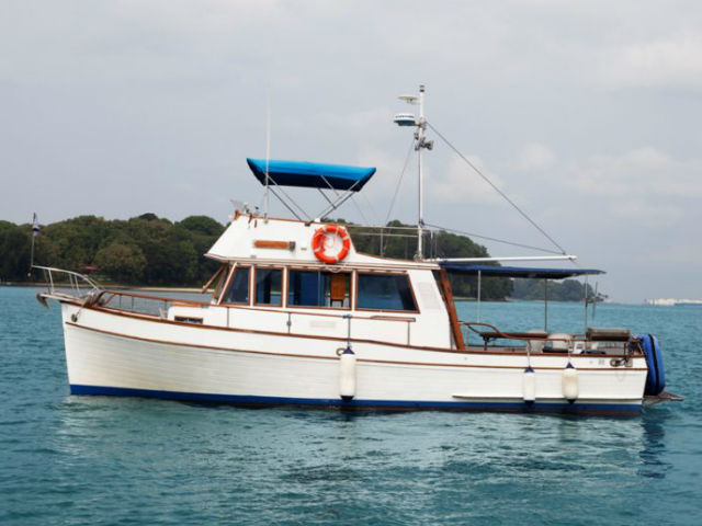 Grandbank Yacht Singapore | Singapore Yacht Charter