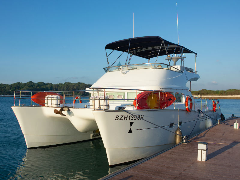 Blitzen of the Sleigh Yacht | Singapore Yacht Charter