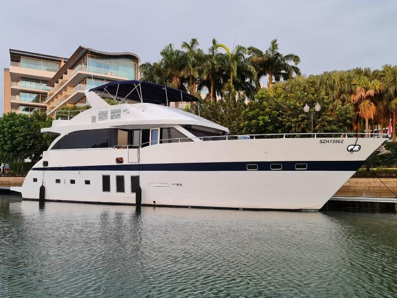 Anka Yacht | Singapore Yacht Charter
