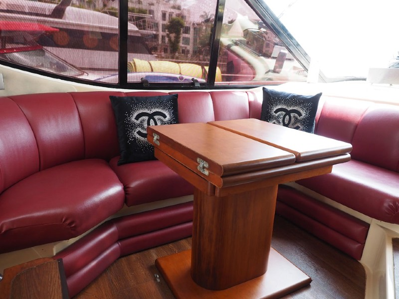 Party Boat 1 Saloon 2 | Private Boat Charter | Singapore Yacht Charter