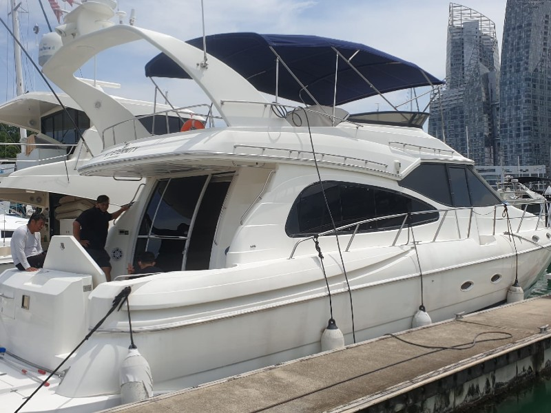 Party Boat 1 Overview | Private Boat Charter | Singapore Yacht Charter