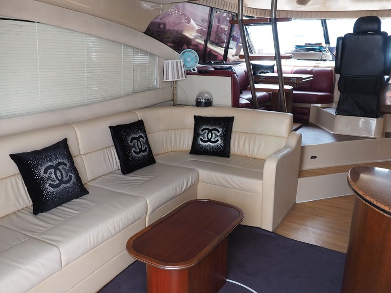 Party Boat 1 Saloon | Private Boat Charter | Singapore Yacht Charter