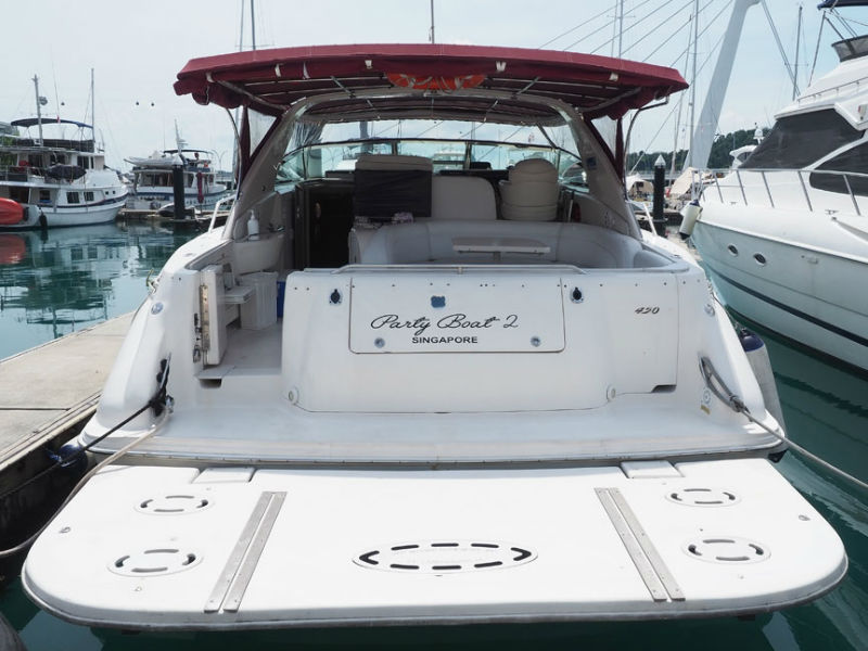 Party Boat 2 Aft Deck | Yacht Party | Singapore Yacht Charter