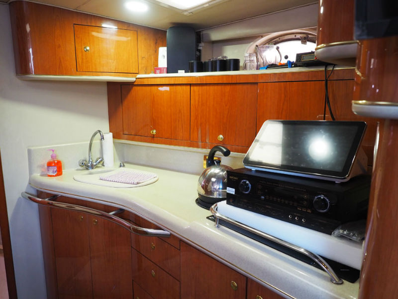 Party Boat 2 Galley | Yacht Party | Singapore Yacht Charter