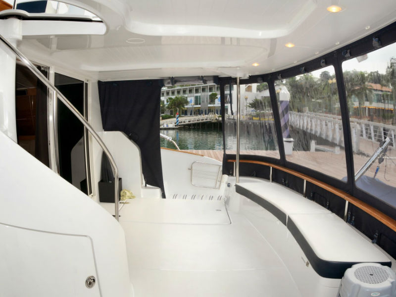 Xiao Lin Rear Deck | Singapore Yacht Charter