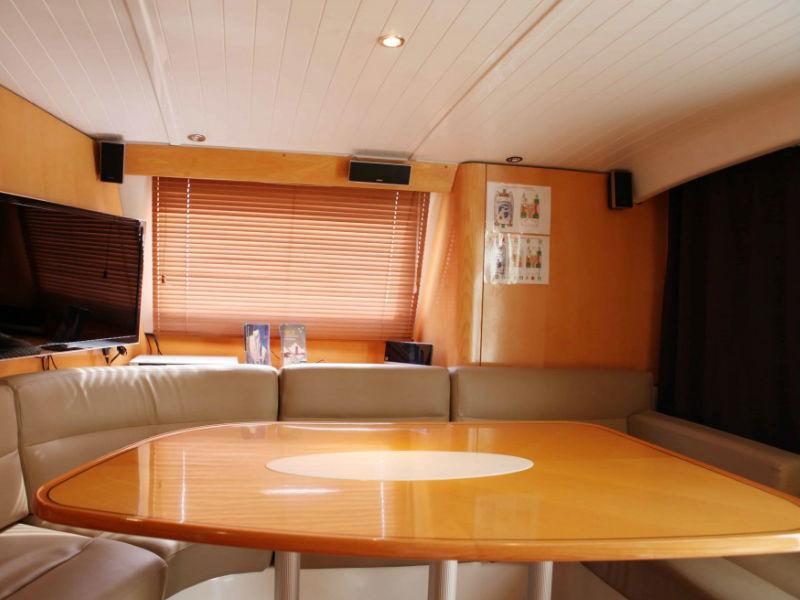 XiaoLin Yacht Saloon Area | Singapore Yacht Charter