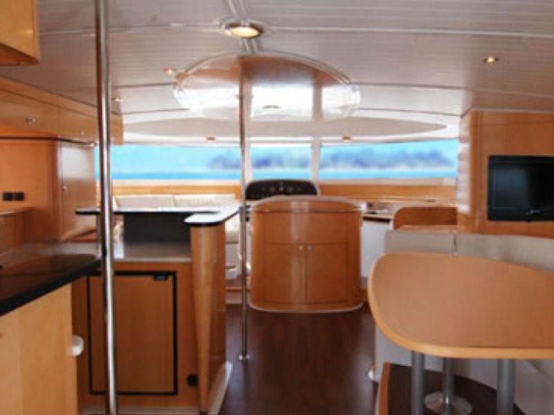 XiaoLin Yacht Saloon | Singapore Yacht Charter