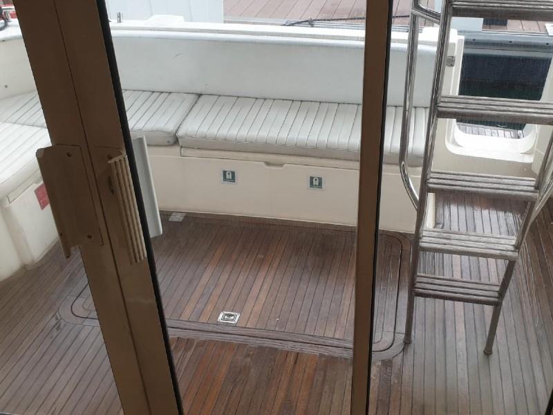 Zen Sea Aft Deck | Overnight Yacht Rental | Singapore Yacht Charter