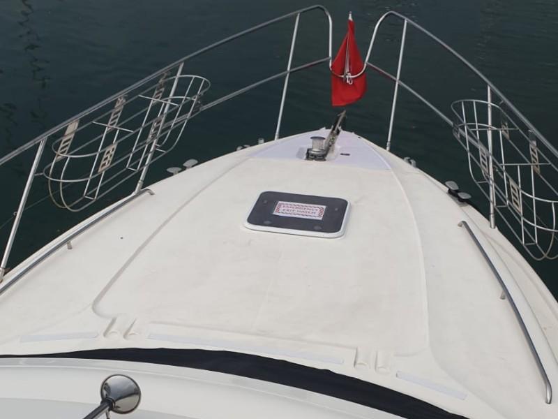 Zen Sea Bow | Overnight Yacht Rental | Singapore Yacht Charter