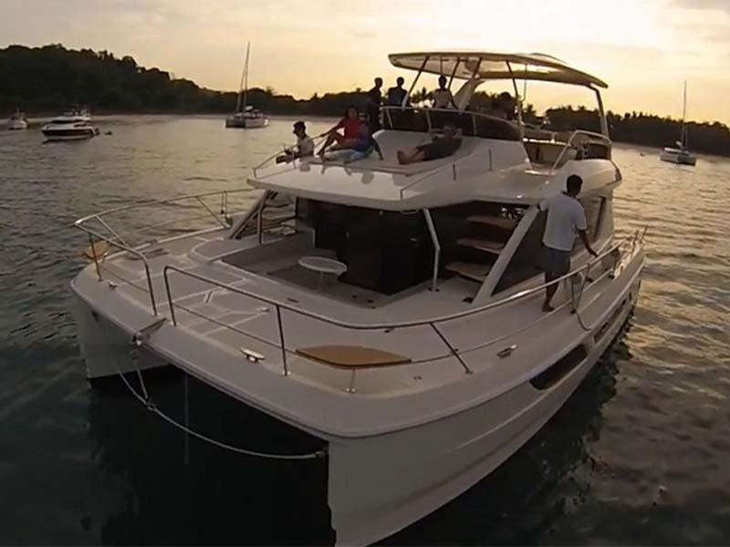 Amethyst 1 Yacht Charter | Singapore Yacht Charter