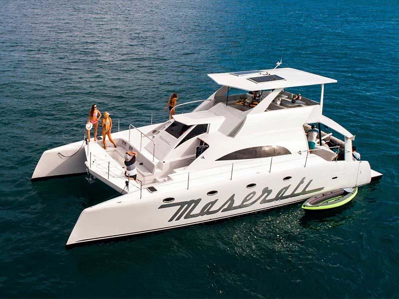 Mustang Yacht | Maserati Power Catamaran | Singapore Yacht Charter
