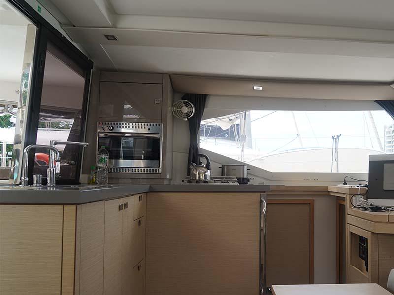 Aquaholic Yacht Saloon 1 | Fountaine Pajot Lucia 40 | Singapore Yacht Charter