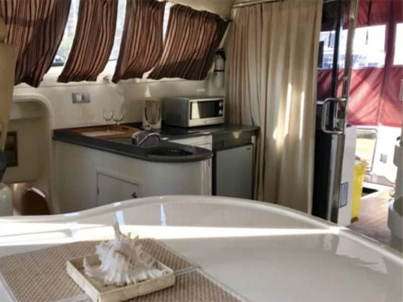 La Fortuna Yacht Galley | RSYC | Cruise to Pulau Hantu | Singapore Yacht Charter
