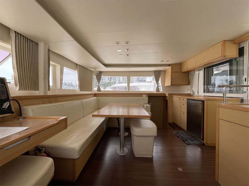 Waga Mari Yacht Saloon   Lagoon 450 Sailing Catamaran   Singapore Yacht Charter