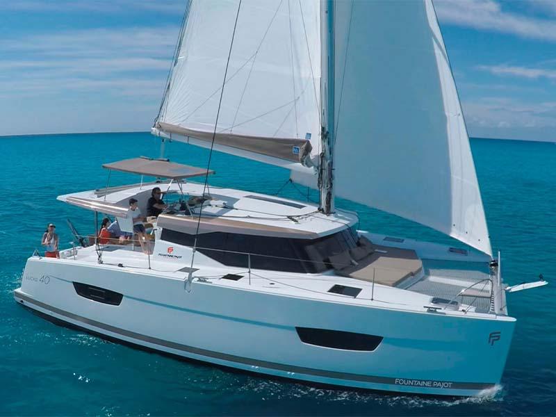 Aquaholic Yacht Cruising | Fountaine Pajot Lucia 40 | Singapore Yacht Charter