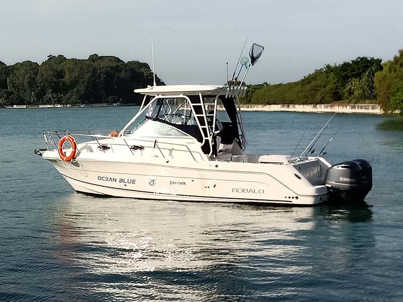 Pioneer Ocean Blue | Fishing Boat Rental | Singapore Yacht Charter