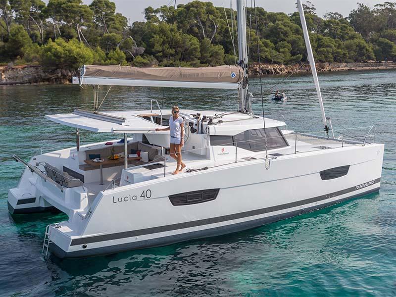 Aquaholic Yacht Rental | Fountaine Pajot Lucia 40 | Singapore Yacht Charter