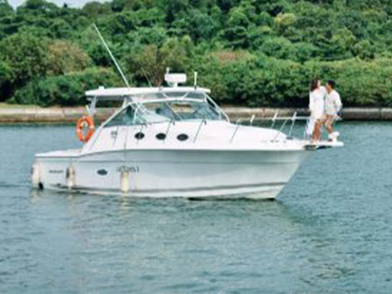 Artemis-1 Fishing Boat   34ft Wellcraft   Singapore Yacht Charter