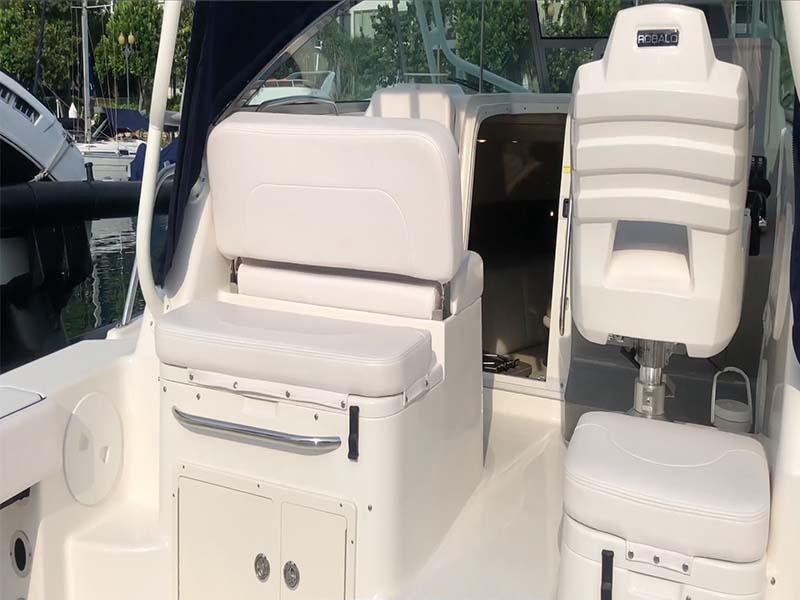 Pioneer Ocean Blue Aft Deck | Fishing Boat Rental | Singapore Yacht Charter