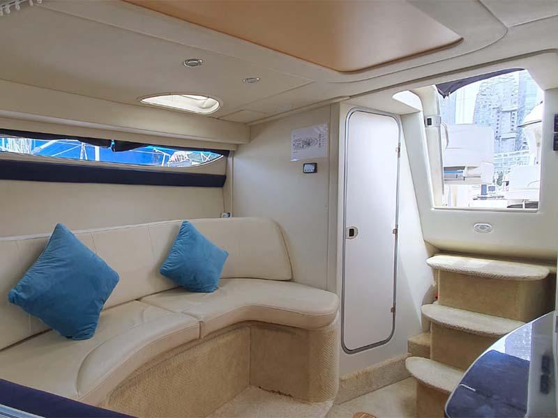 Fun At Sea Yacht Saloon   Bayliner 350   Singapore Yacht Charter