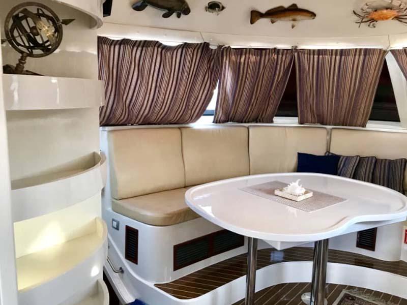 La Fortuna Yacht Saloon 1 | RSYC | Cruise to Pulau Hantu | Singapore Yacht Charter