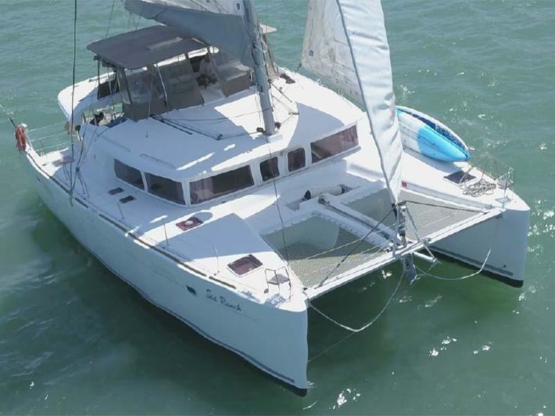 Waga Mari Yacht Charter | Lagoon 450 | Sailing Catamaran | Singapore Yacht Charter