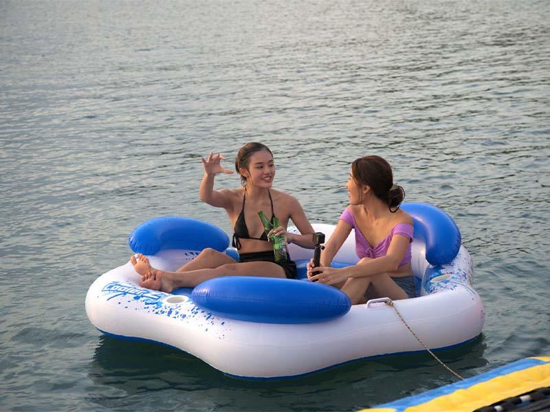 Synergy 1 Yacht Floating Lounge   Aquila 48 Catamaran   Singapore Yacht Charter
