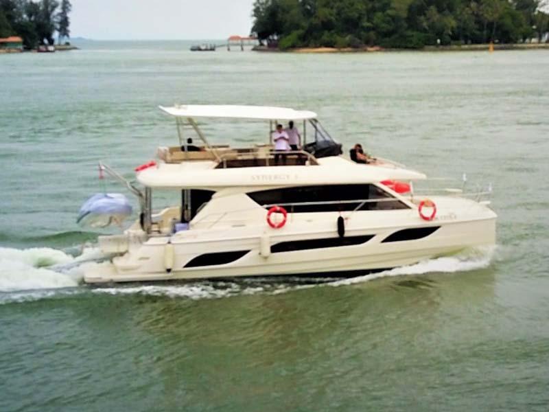 Synergy 1 Yacht Cruising   Aquila 48 Catamaran   Singapore Yacht Charter